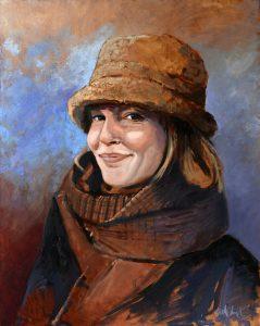 Portret van Bibi