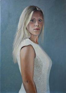 Portret van Frederieke