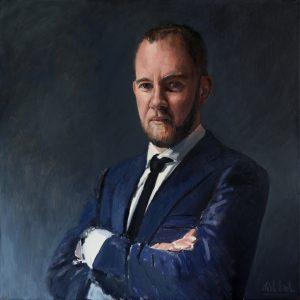 Portret van Niels