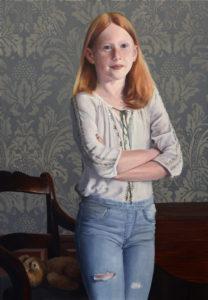Portret van Kiki